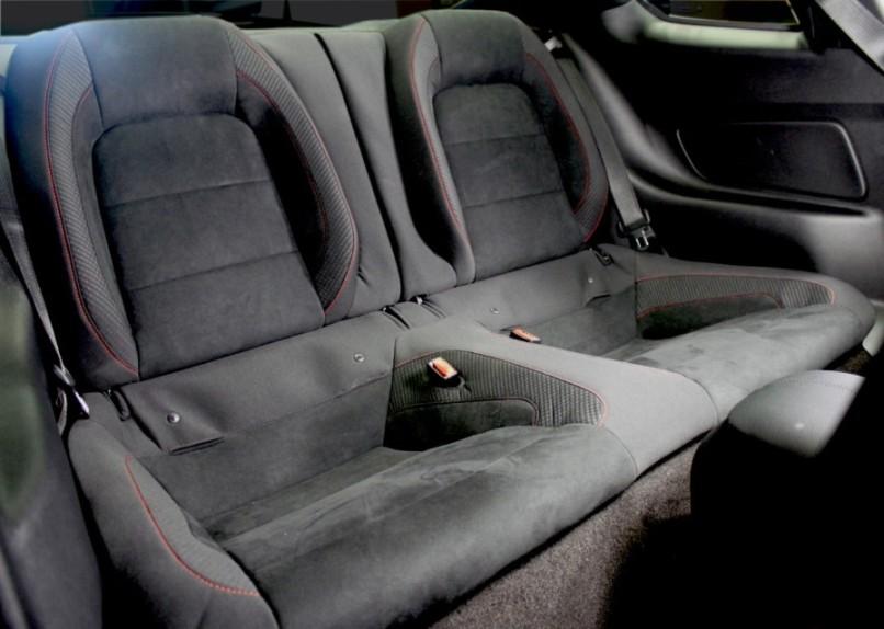 Ford Mustang Backseat